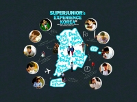 Super Junior : Experience Korea [Travel Book]