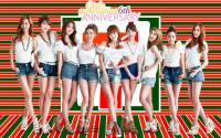 Girls' Generation ::6th Anniversary 7-11 Japan CF:: Ver.26
