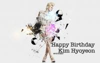 ::HAPPY BIRTHDAY:KIM HYOYEON::