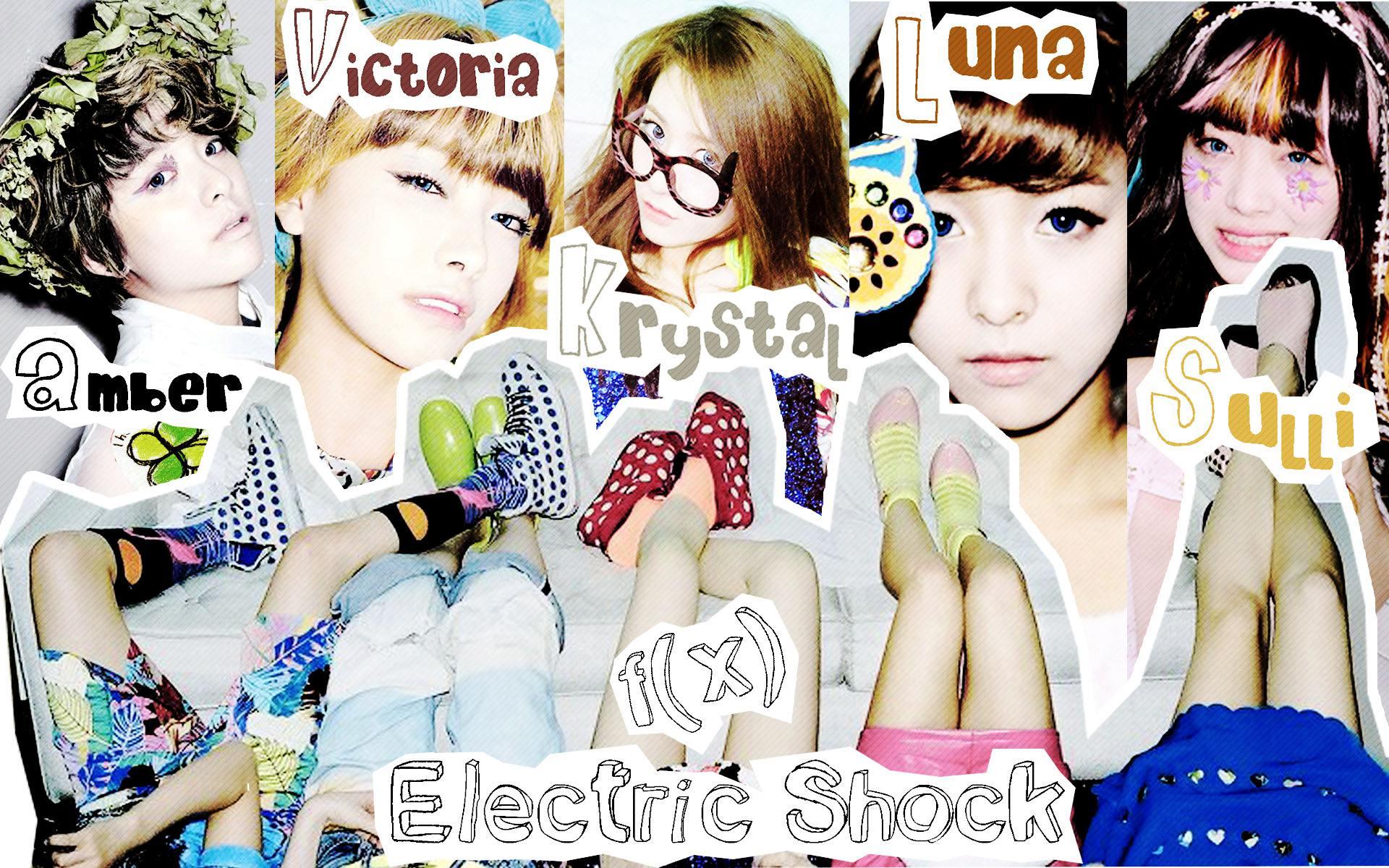 Fx Electric Shock Fx electric  F(x) Electric Shock Album Cover