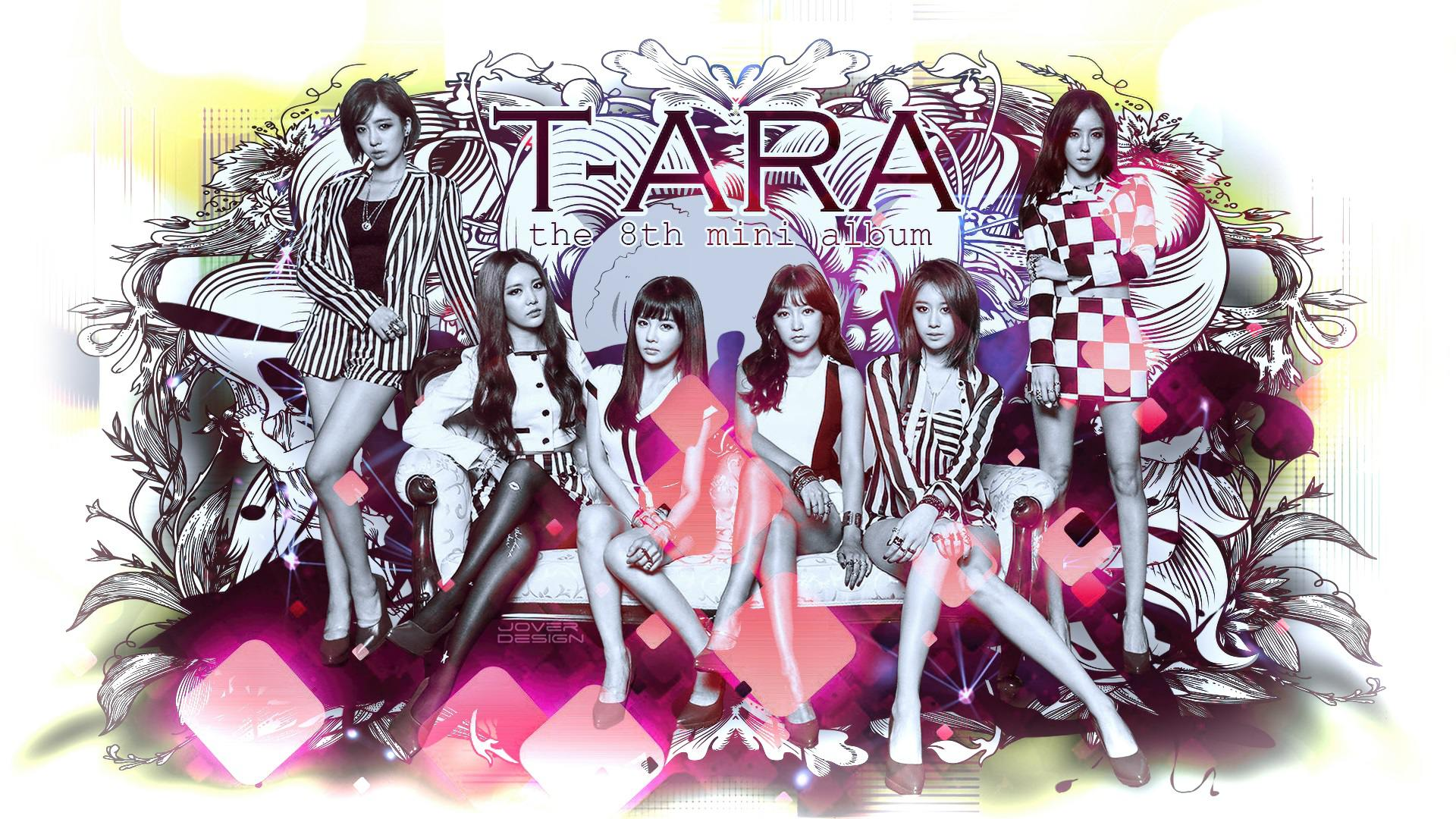 ara Number 9    ...T Ara Number 9 Wallpaper