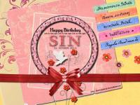 SIN Singular : Happy Birthday 01-10-2013