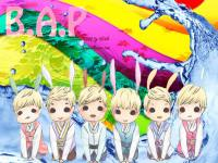 B.A.P CARTOON