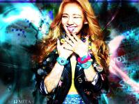 Hyoyeon Baby-G [Abstract Style]