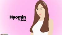 Hyomin T-ARA digital painting