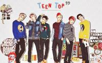 Teen Top in Arena Homme Plus Oct 2013