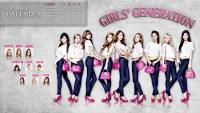 ★  Girls Generation November Calender With Samantha Thavasa ★ 1080