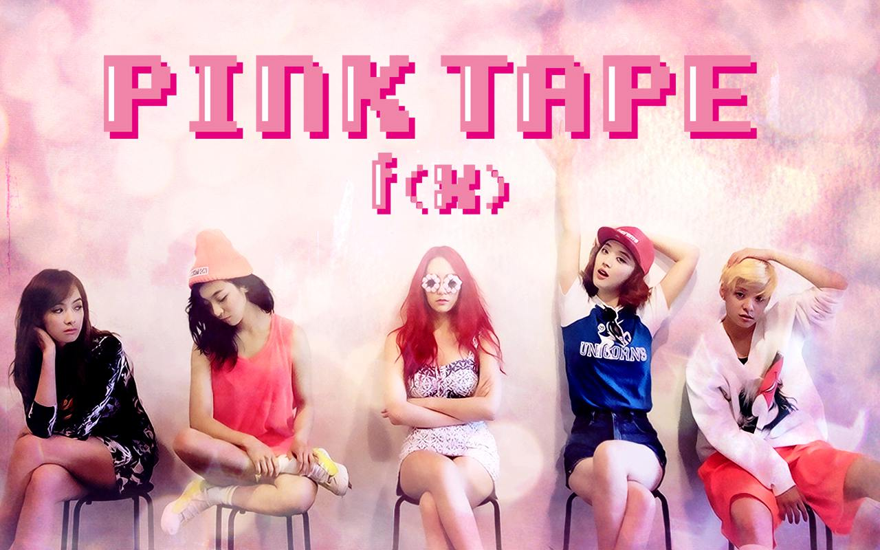 f(x) - Pink Tape Wallpaper by fitriss F(x) Pink Tape