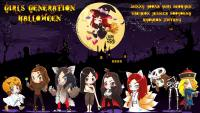 SNSD ♥ Happy Halloween 2013 Cartoon ver.