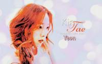 Kim Tae Yeon Soft Bokeh Simple Wallpaper
