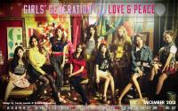 SNSD ♥ 3rd Japanese album titled 'Love & Peace'