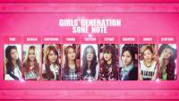 SNSD ♥ SONE Note Vol.2 Japan Magazine # 2