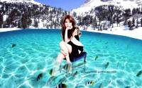 SNSD Sooyoung in the Sea