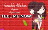 :: TROUBLE MAKER :: CARTOON VER. :: BRICK ::