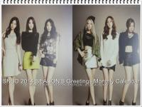 SNSD 2014 Season's Greetings Monthly Calendar