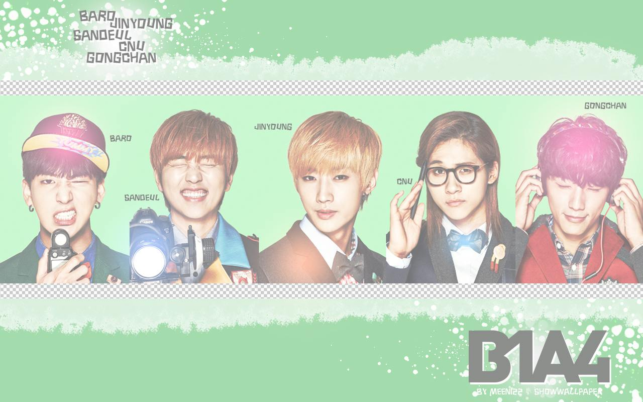 B1A4 - SMART UNIFORM 2   B1a4 2014 Wallpaper