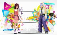 Kingdom Hearts : Kairi and Riku