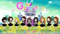 SNSD Mr.Mr.♥ 4th Mini Album # 8 ver.cartoon with Calendar March 2014