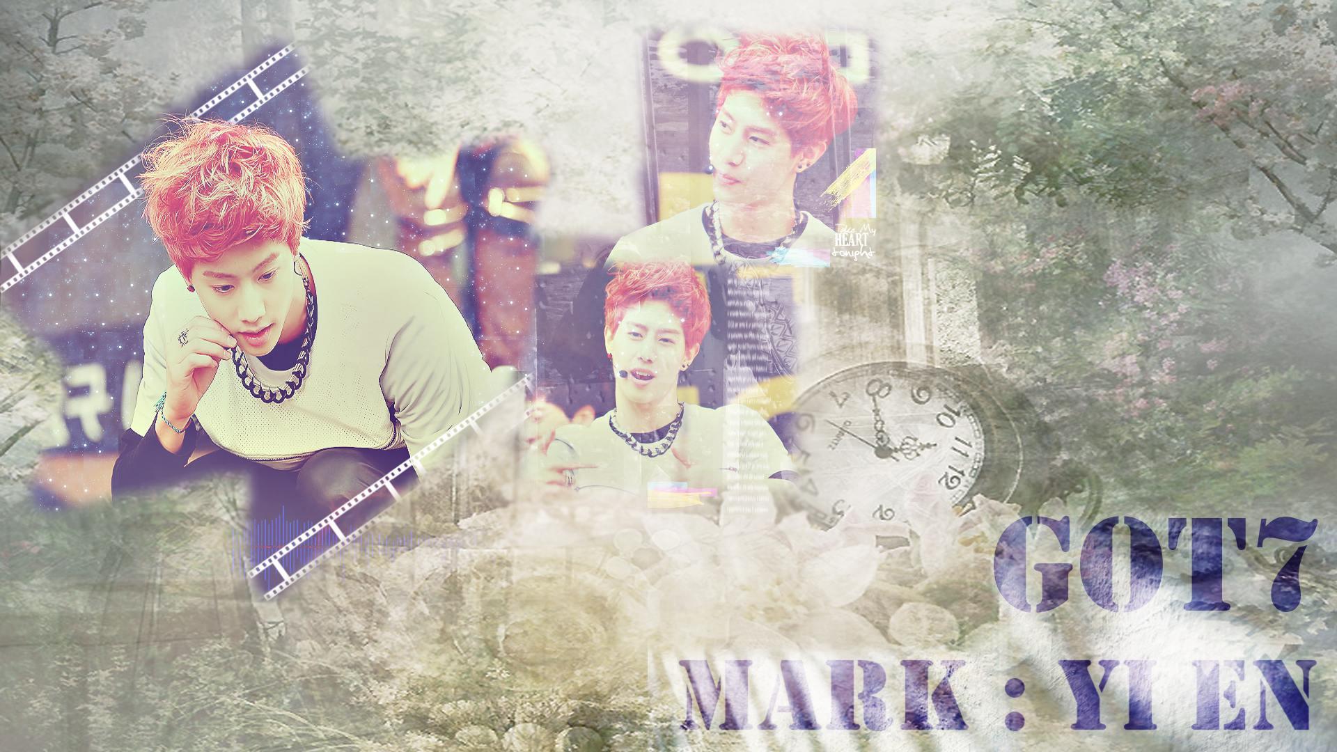 GOT7 : MARK YI EN Wallpaper by nam_inhyoung