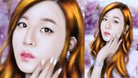 Tiffany digital paint