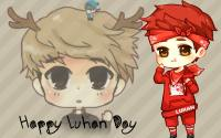 Happy Luhan day cartoon ver.1