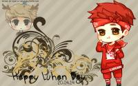 Happy Luhan day cartoon ver.2