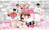 "EXO-M fOr ""Meilishuo.com"""