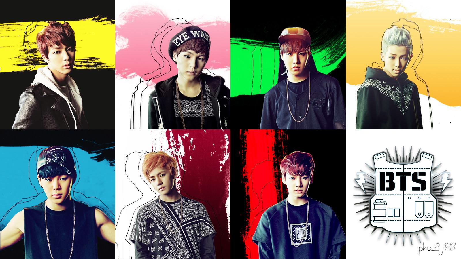 Bts No More Dream Japanese Wallpaper By Pko 2j123