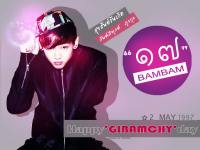 BAMBAM - HAPPYGIBAMCHYDAY