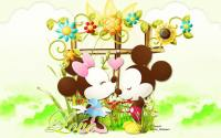 Mickey & Minie In Love