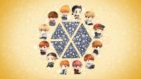 EXO ♥ Cartoon ver.