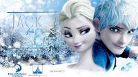 Jack Frost and Elsa wallpaper ( JelSa )