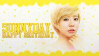 HAPPY BIRTHDAY SUNNYDAY
