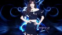 Taeyeon Blue Abstract