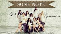 SNSD SONE NOTE Wallpaper