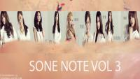 Sone Not Vol 3 Version