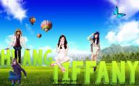 Tiffany With Text Nature