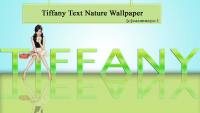 Tiffany Simple Nature With Text