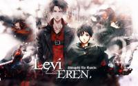 LEVI AND EREN Wallpaper