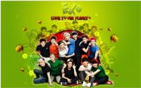 EXO : FRESH AND COLORFUL