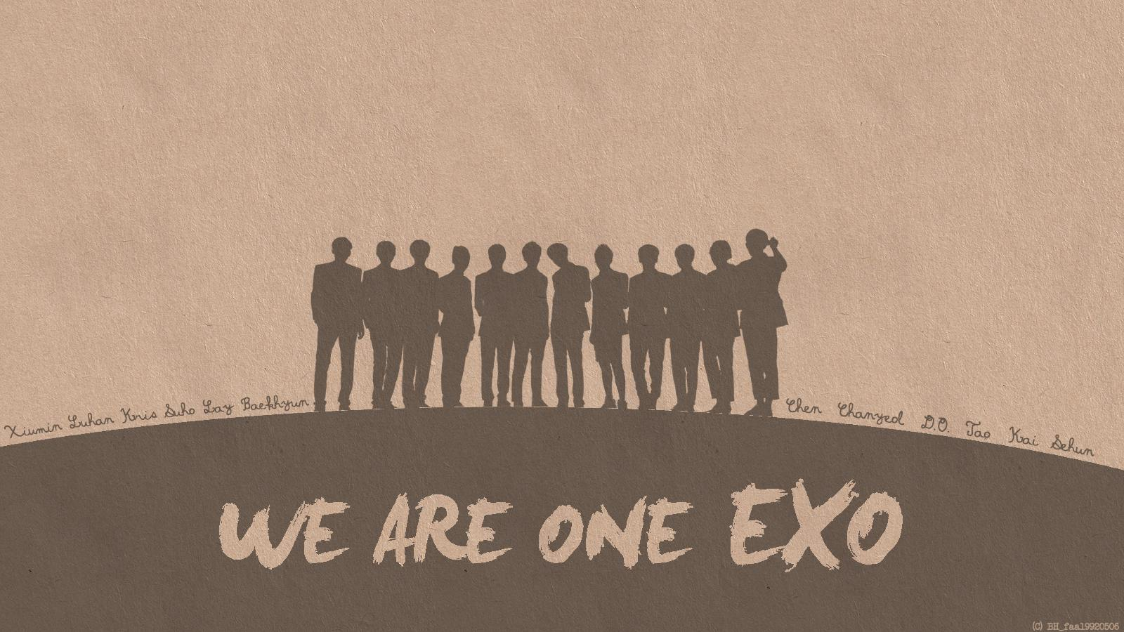 We Are One Exo Wallpaper By Bh Faa19920506