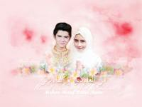 Aliando & Prilly Wallpaper Idul Fitri