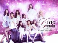 SNSD Simple Abstract Wallpaper