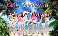 ::SNSD On The Beach Wallpaper::