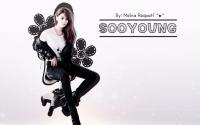 Sooyoung Girls' Generation Wallpaper (Dark)