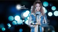 YoonA blue and white