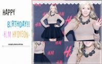 Happy Birthday Hyoyeon #latepost