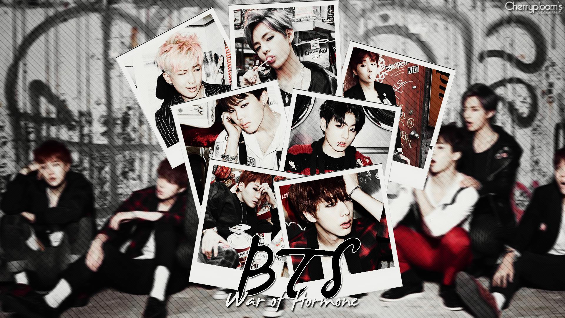 BANGTAN BOYS (BTS) - WAR OF HORMONE ~ Orange {}