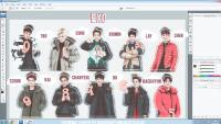 PHOTOSHOP BY EXO