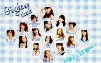 AKB48 Gingham Check Wallpaper